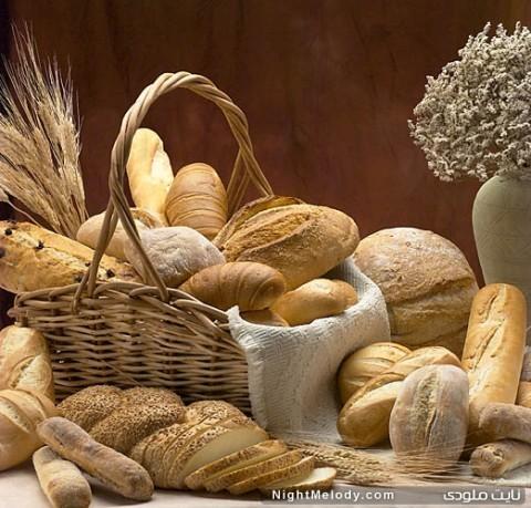 کاهش وزن و نان
