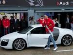 کریس رونالدو با ماشین جدید