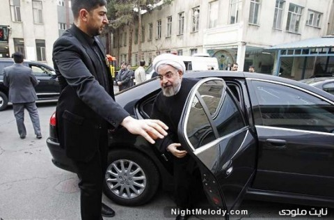 ماشین حسن روحانی