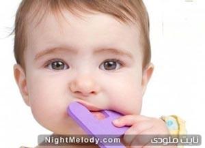 علایم و نشانه های دندان در آوردن در کودکان