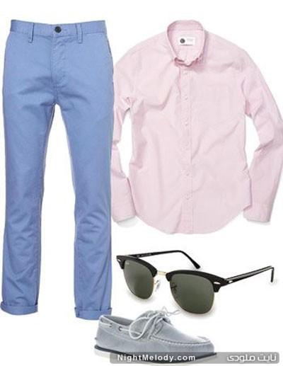 نحوه لباس پوشیدن مردان در تابستان