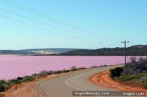 لاگونا هات (تالاب هات) در استرالیا (Laguna Hutt (Hutt Lagoon), Australia)