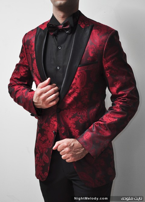 مدل کت قرمز مردانه جدید