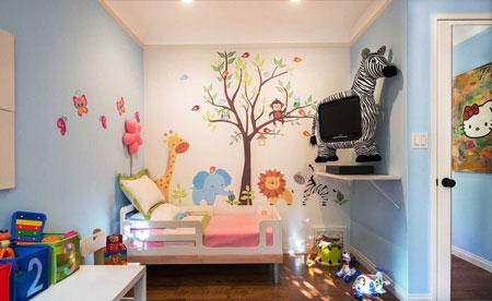 دکوراسیون استثنایی اتاق کودک