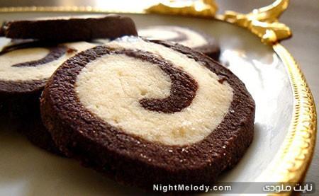 شیرینی نوروزی، کوکیز دو رنگ برای سال نو