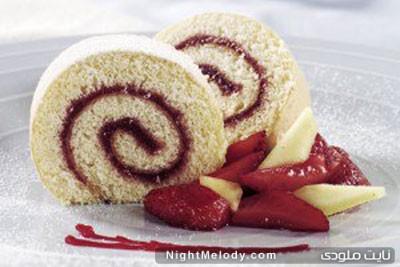 درست کردن رولت کیک به این روش ...