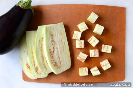 طرز تهیه بادمجان سوخاری :