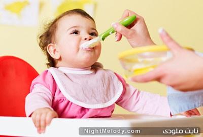 نکاتی راجع به شروع تغذیه کمکی در شیرخواران