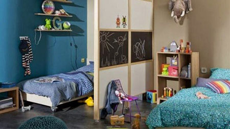 نکاتی برای چیدمان اتاق خواب مشترک کودکان