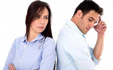 دلخور بودن از همسر