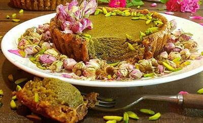 طرز تهیه تارت خرما با حلوا پسته مخصوص ماه رمضان
