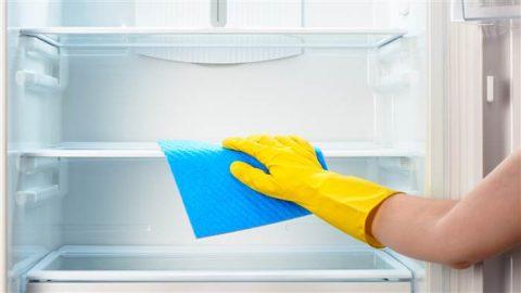 آموزش روشهایی برای تمیز کردن و نگهداری یخچال