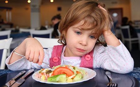 راهکارهایی برای درمان بدغذایی کودکان..!