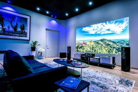 تلویزیون بزرگ سامسونگ